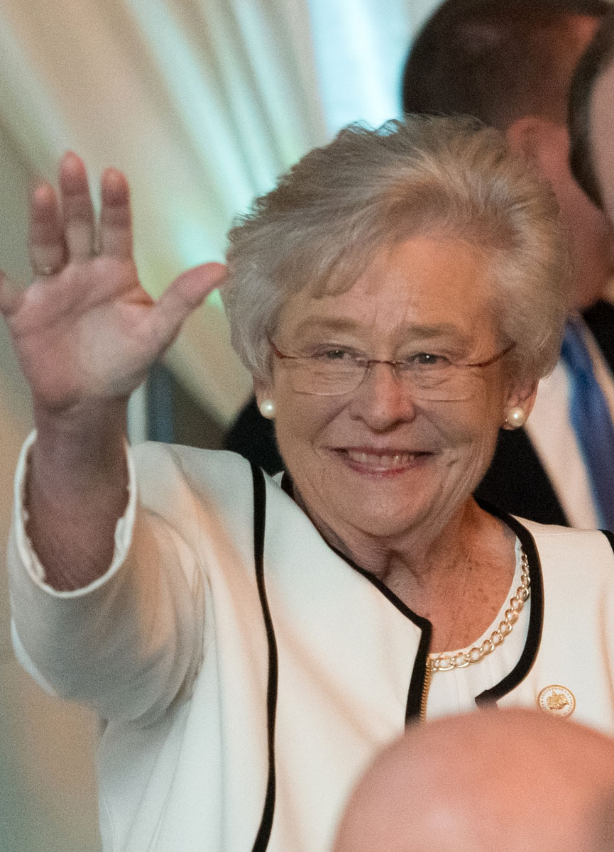 Alabama Governor Kay Ivey at the 2017 Hospitality Gala.